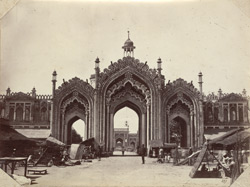 Gateway of Hoosimabad Bazaar, Lucknow.